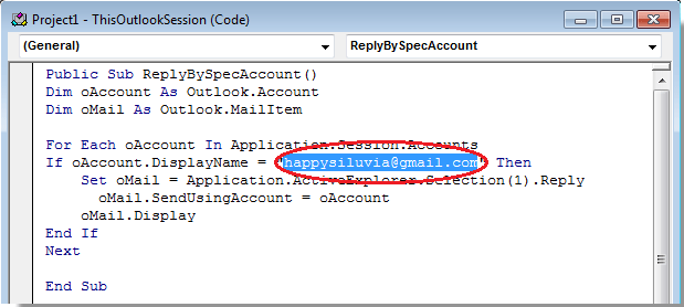 names from excel document to outlook