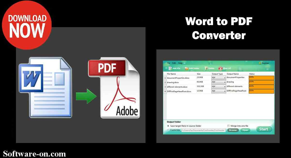 software to convert word document to pdf free download