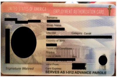 permanent resident temporary travel document