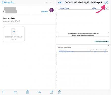 ouvrir un document pdf sur ipad