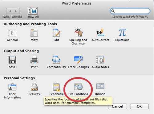how to auto recover word document