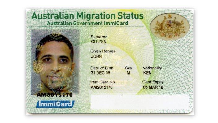 permanent resident travel document contact