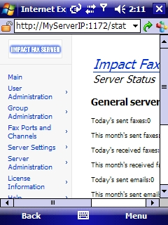 open office send document as fax