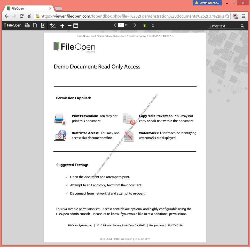 copy pdf document without security
