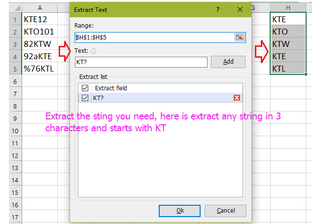 how to parse a document to extract a certain string