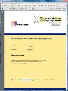 create technical documentation ppt