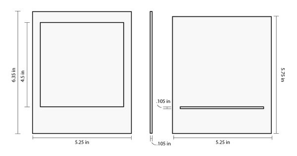 how big is a word document in inches