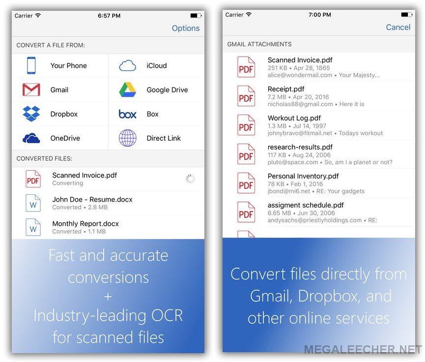 convert pdf to word document windows 7