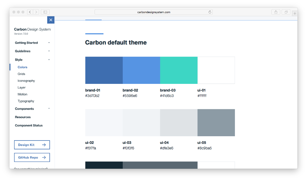 how to match colors on a document