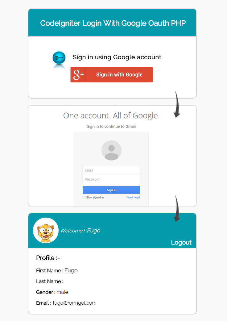 google client php documentation