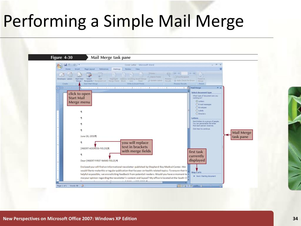 merge word document with powerpoint