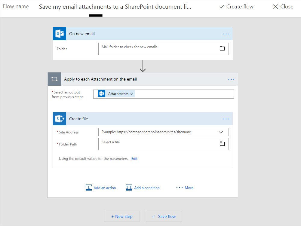 how to email a document from sharepoint