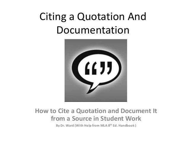 how do you do documentation