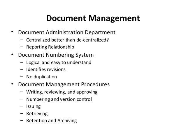 document version control numbering system