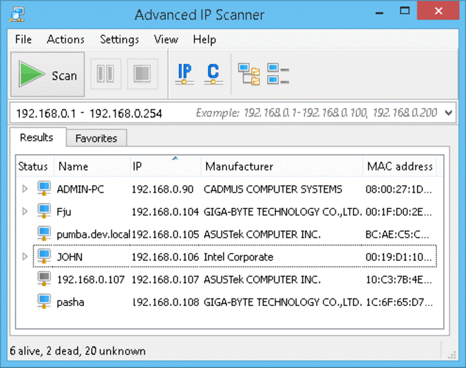 network document scanner software free