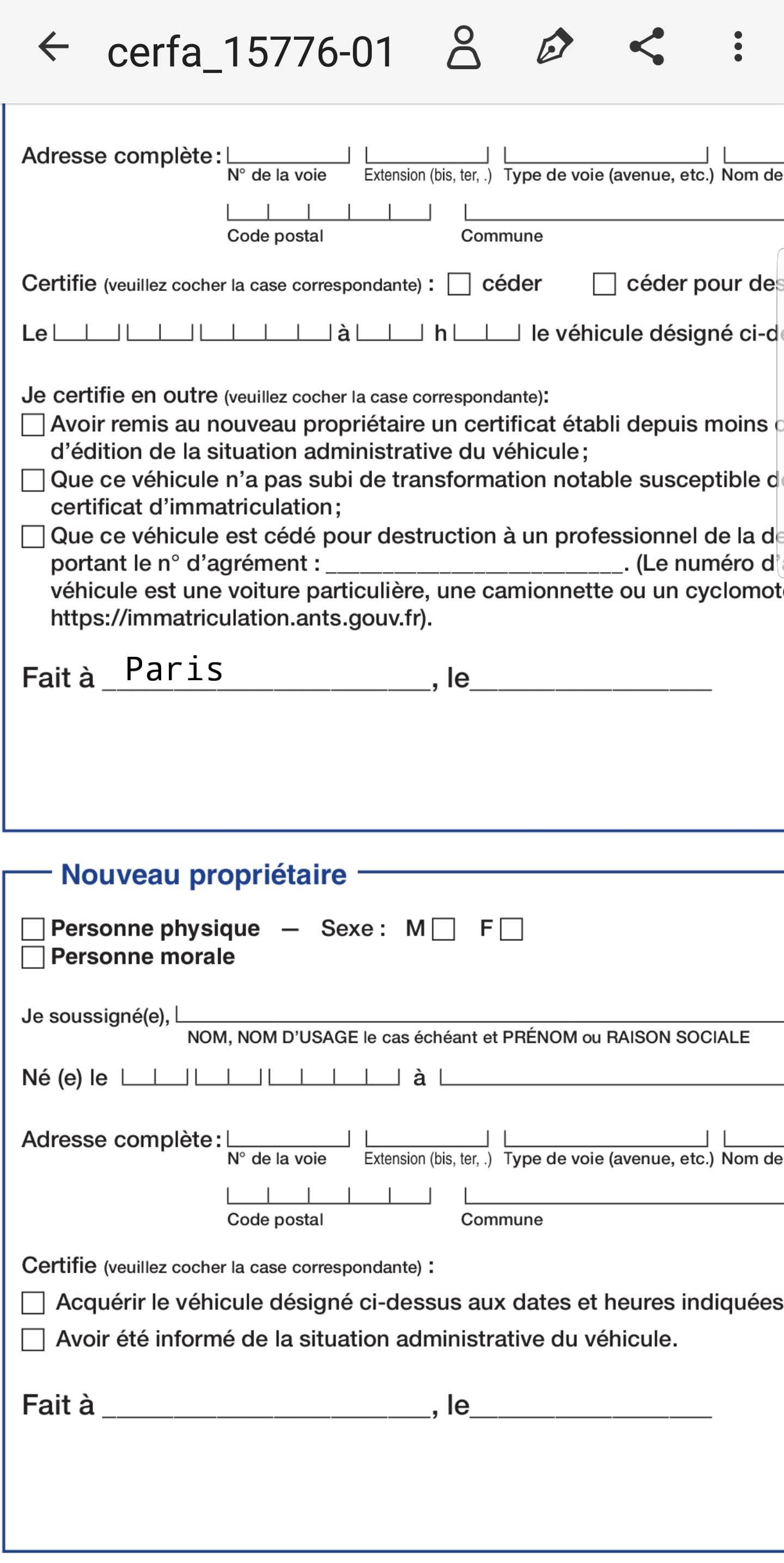 comment modifier un document pdf sur tahlette android