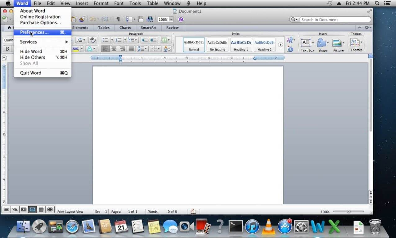 how to recover a mac word document