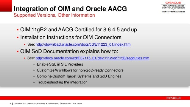 oracle identity manager 11gr2 documentation