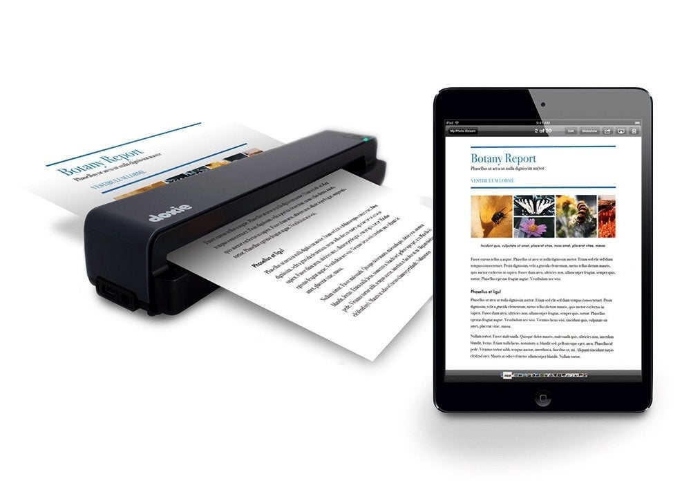 who invented the doxie go mobile document scanner