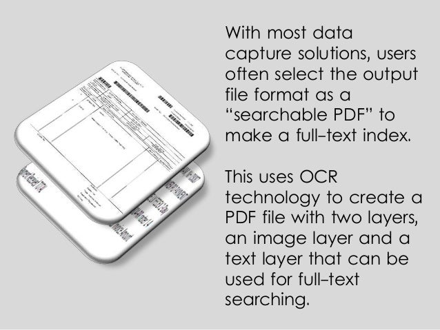 extract data from a scanned document