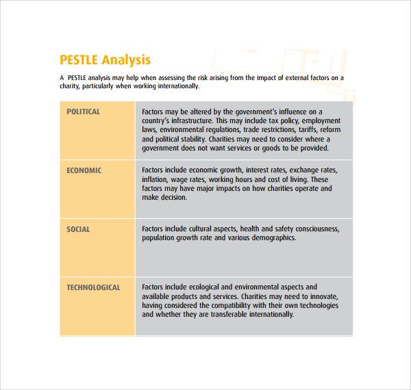 environmental risk assessment example document