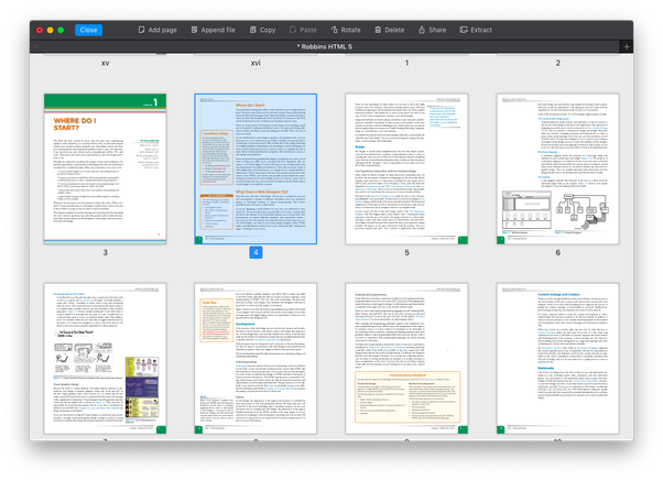 how to add pdf copies in one document
