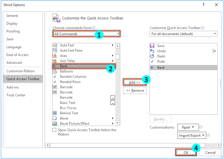 create word document from access vba