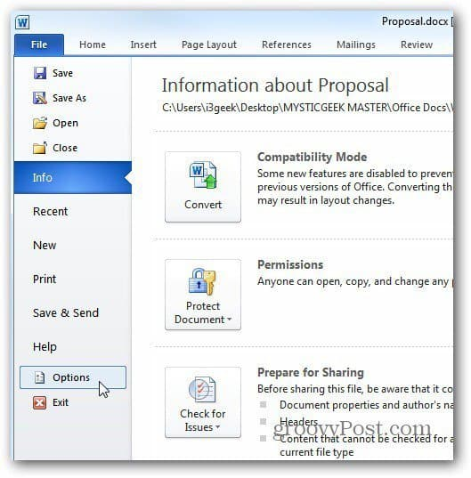 how to save a word document as a web page