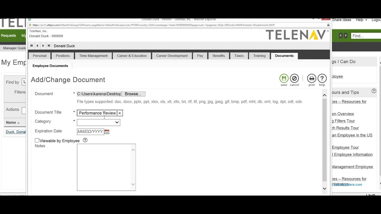 how to upload a signed document