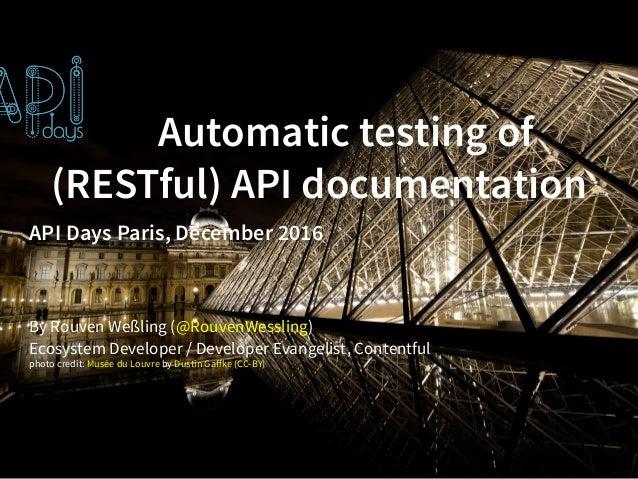 rest api reference documentation