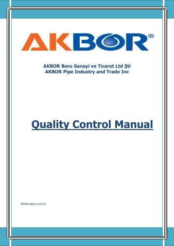 quality control documentation pdf