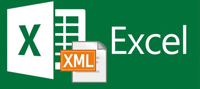 bind excel document to xml