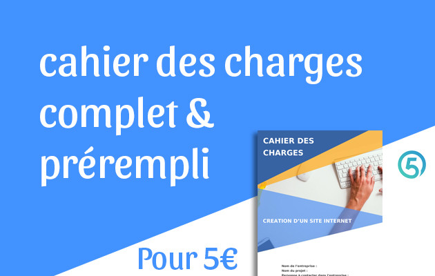 document cahier des charges 2016-2017