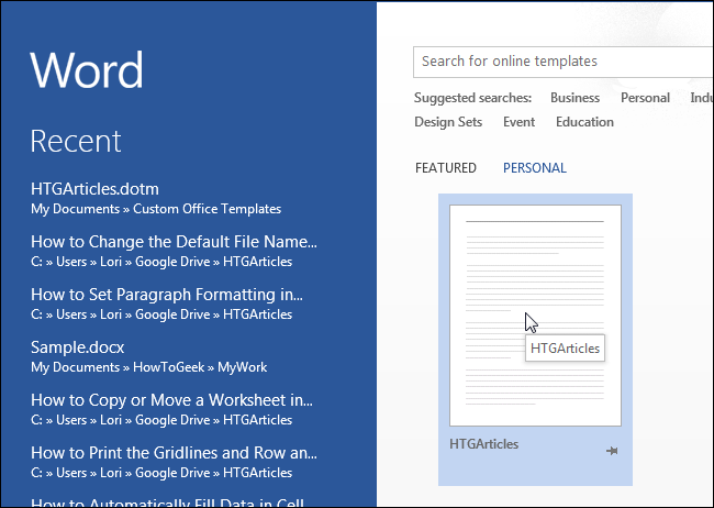 save proposed changes to word document