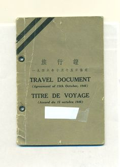 canada refugee travel document issued by