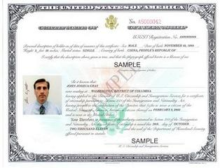 canadian travel document issued in your name