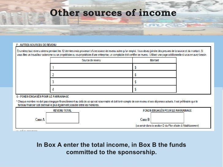 cic proof of funds document
