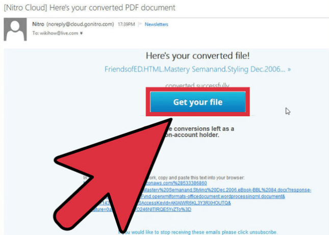 conver a pdf document to word