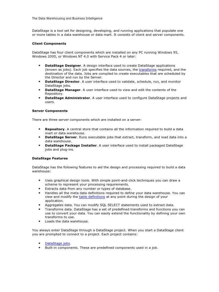 datastage 8.5 documentation