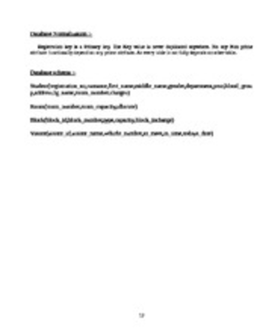 document management system project report