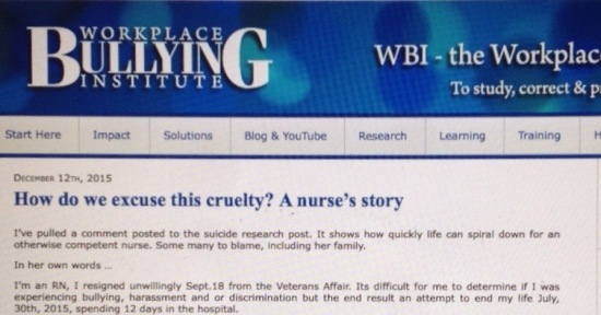 dr namie document site workplacebullying.org