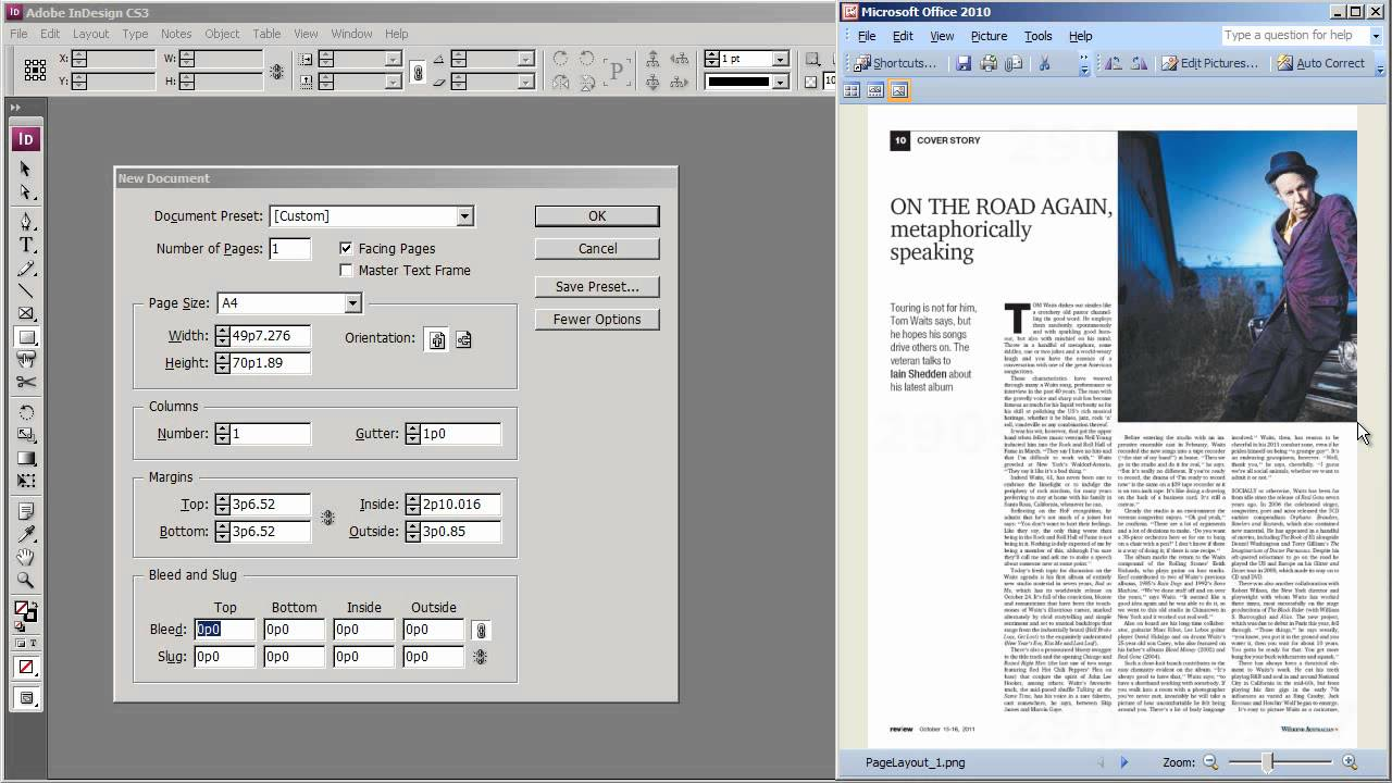 add columns to indesign document