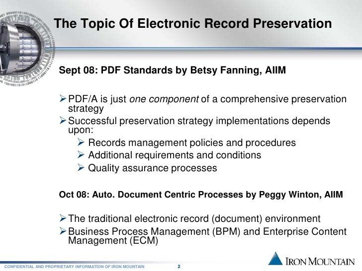 electronic document management best practices