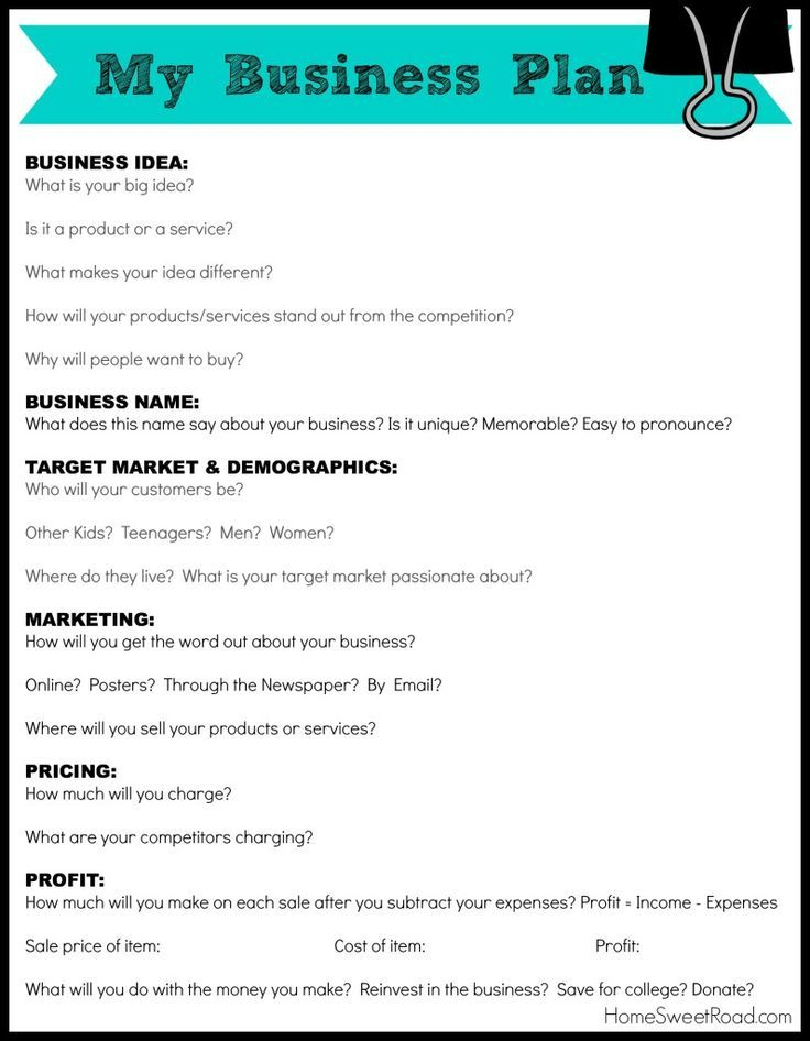 how to write a strategy document template business plan