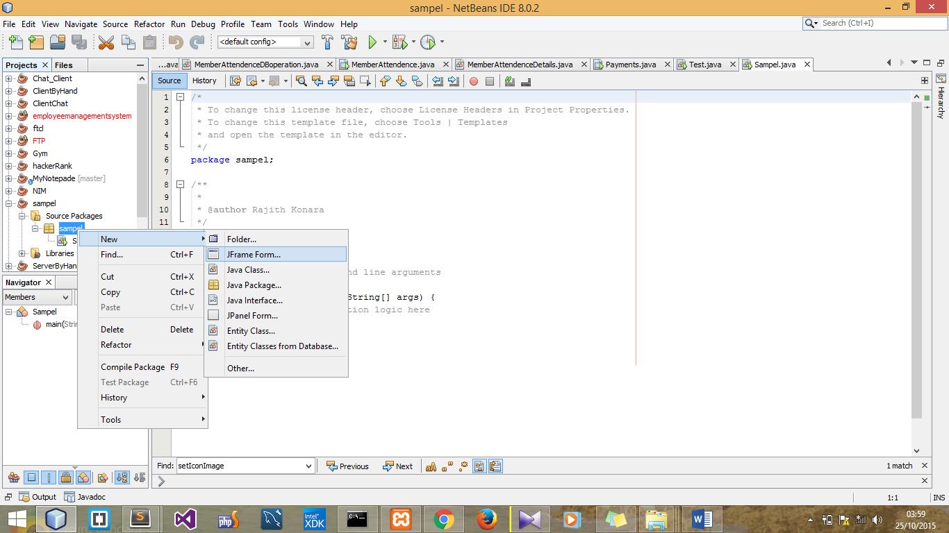 java create a word document