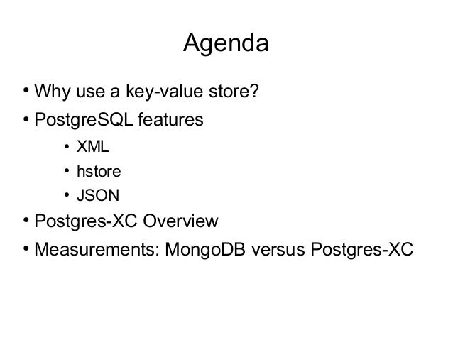 key value vs document store