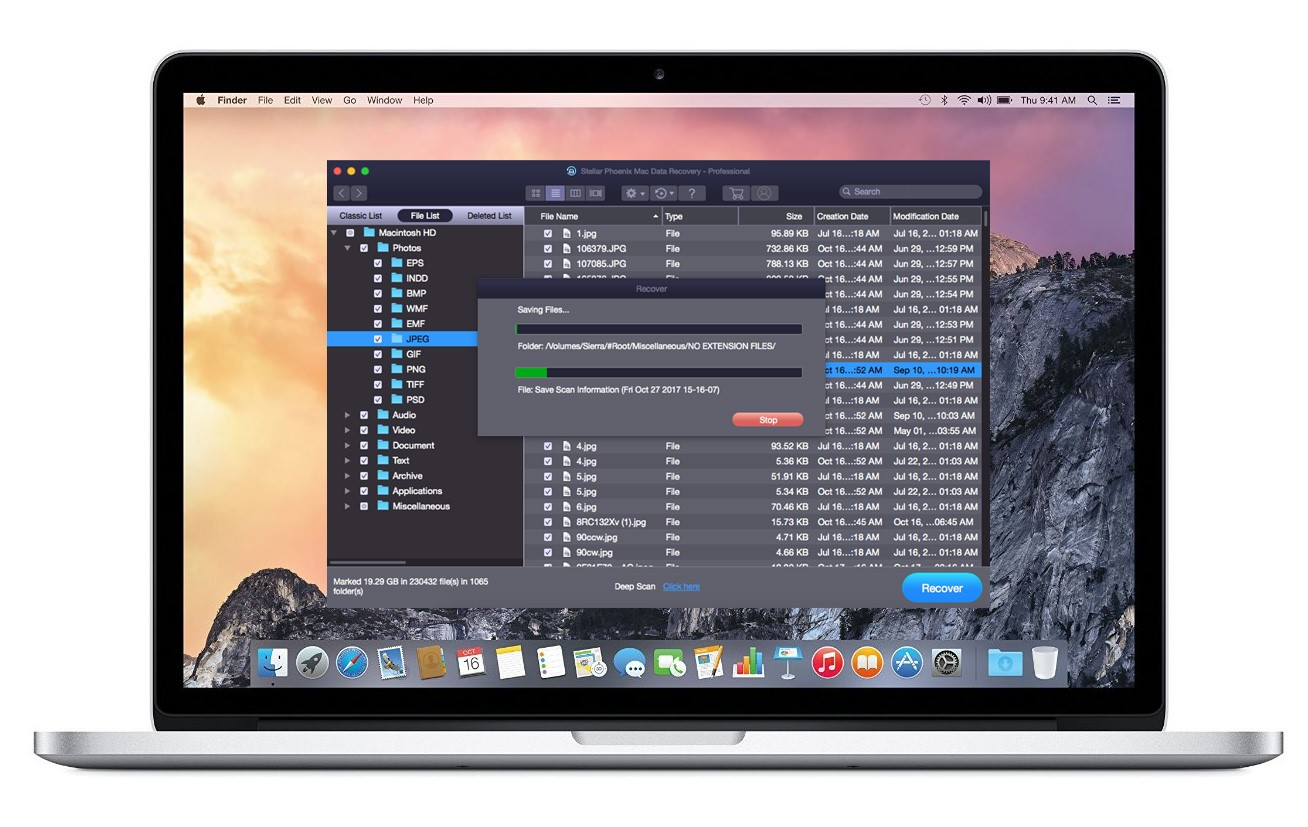 lost document on macbook pro