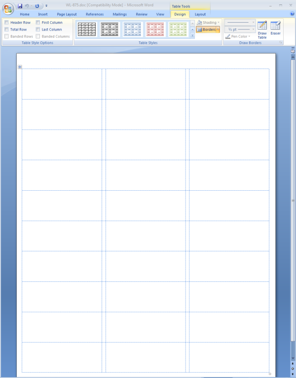 my word document margins are messed up