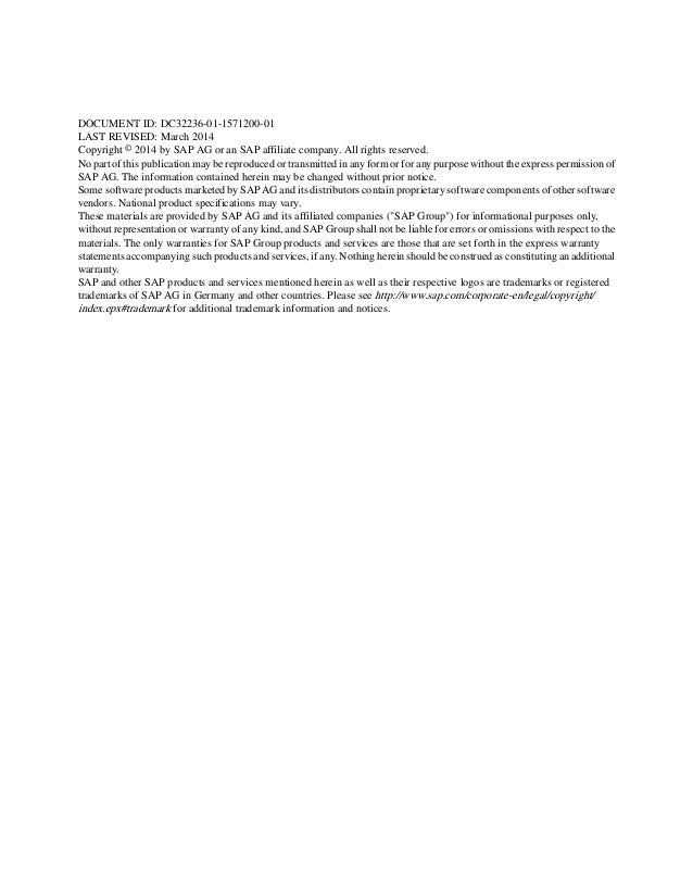 proprietary notice for published document