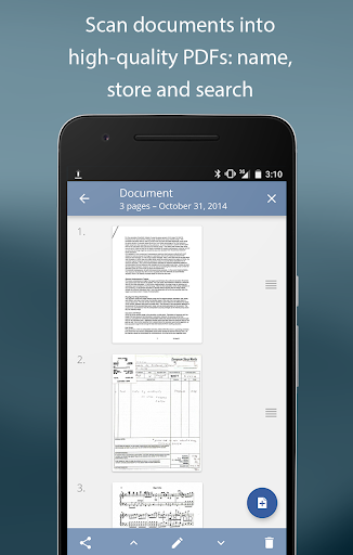 scan document to pdf converter free download